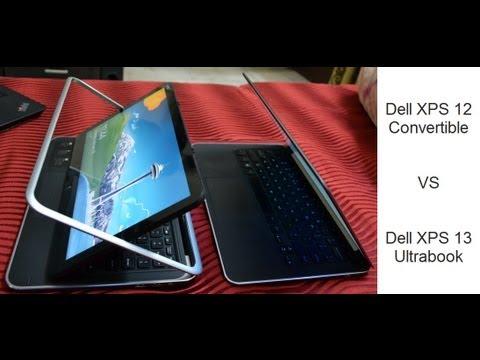 Dell Releases XPS 13 Laptop/Convertible