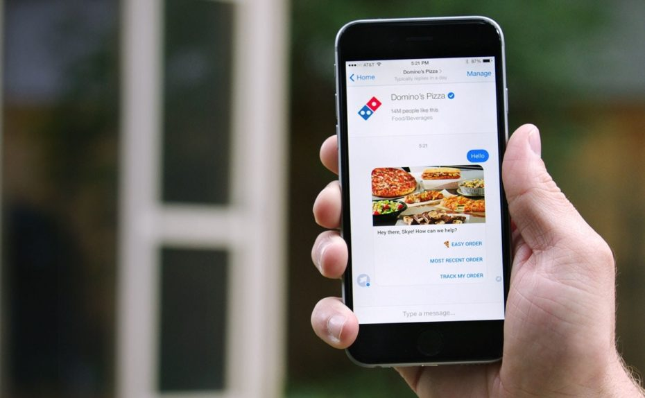 Order Your Domino's Pizza Via Facebook Messenger Now