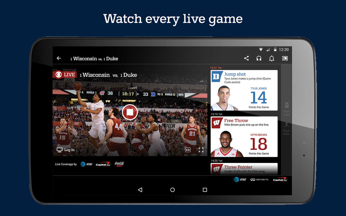 Follow your brackets with these March Madness apps