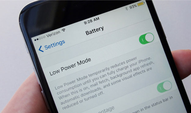 How to Save Battery on iPhone 7